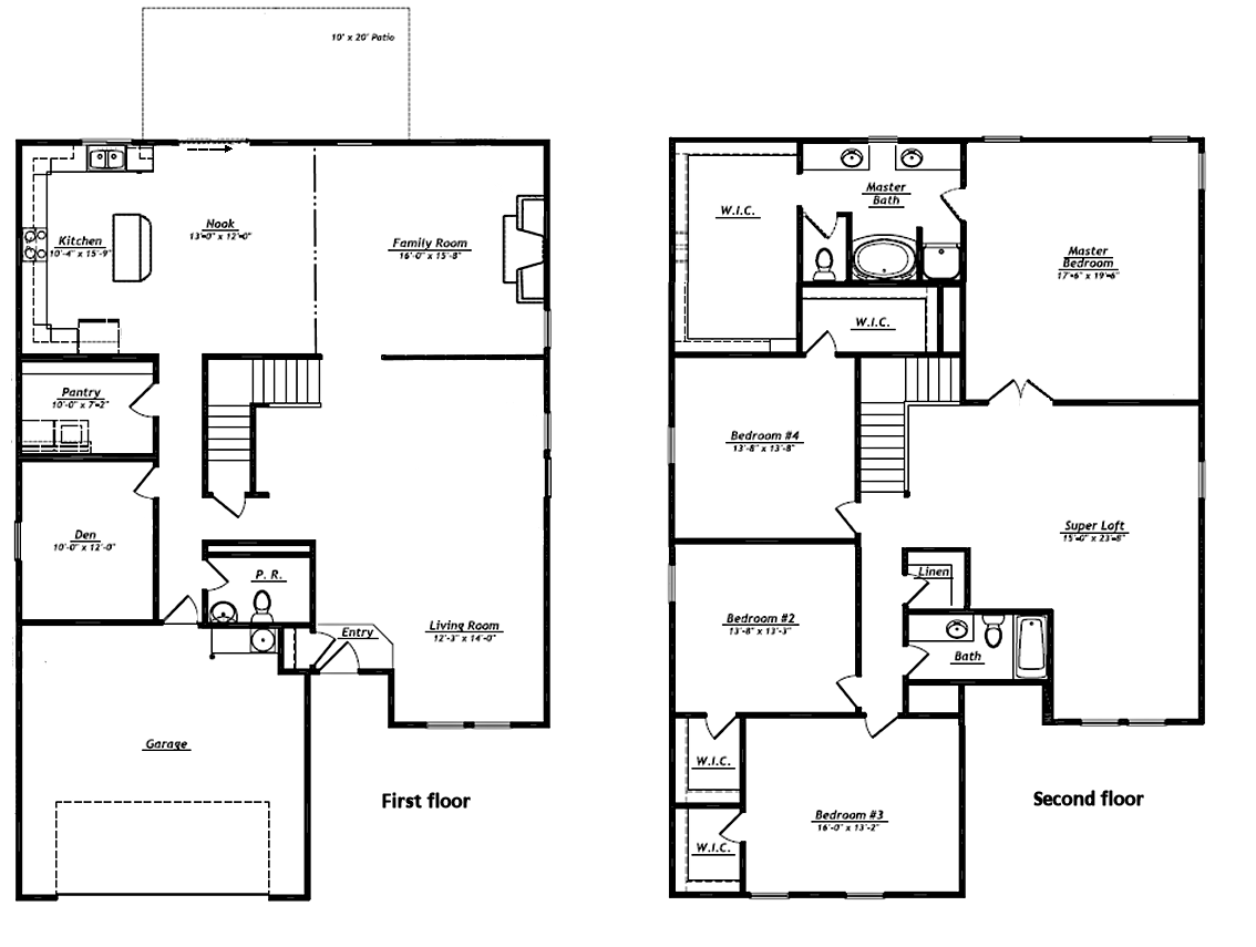 Empty nester house plans shannon house plan 2nd floor for Best empty nester house plans
